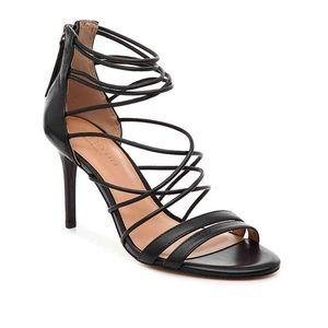 •Halston• Strappy Heeled Sandals